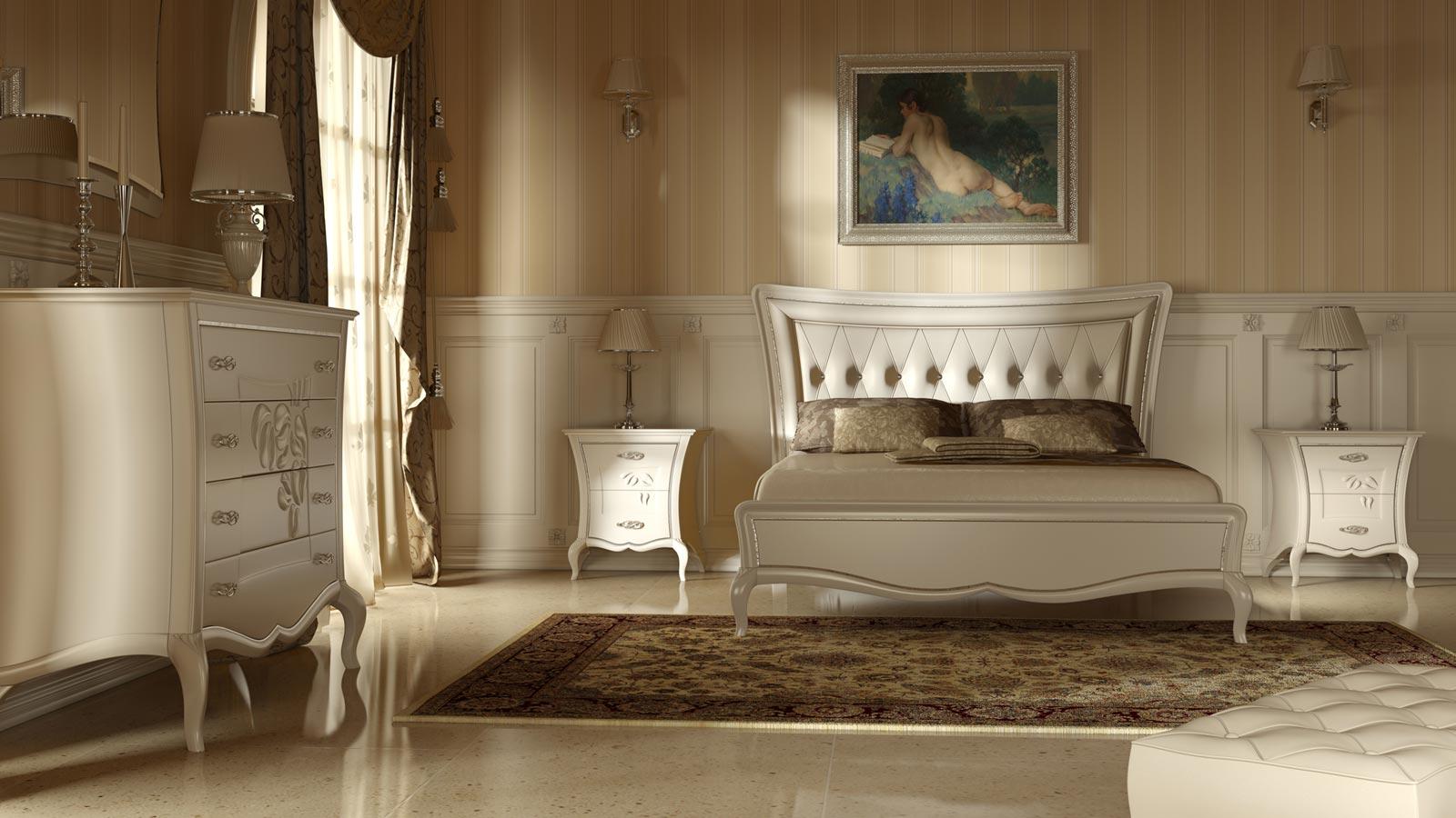 Stanza da letto classica - Tende per stanza da letto ...