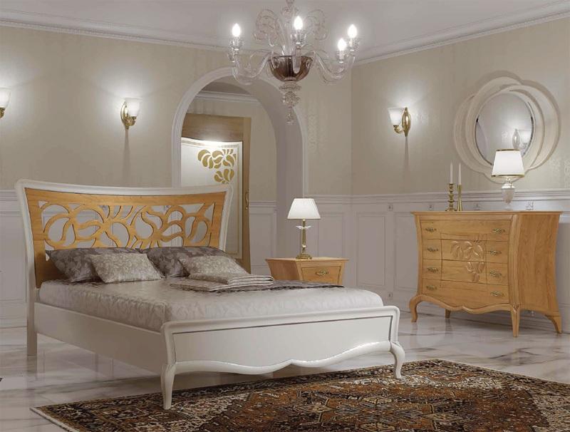 Letto traforato arredamenti albanese for Camere da letto deco mobili